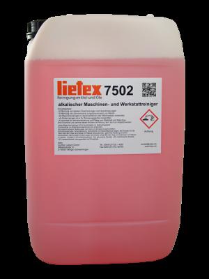 Alkalischer Maschinen- und Werkstattreiniger von Lietex, Kanister